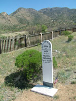 Cemetery at Fort Bowie AZ