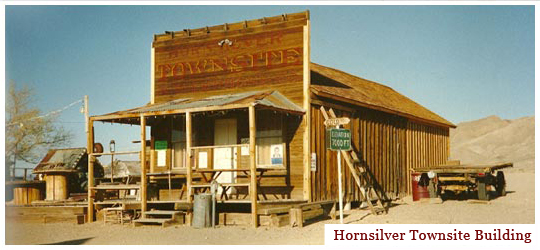 Hornsilver Townsite Building